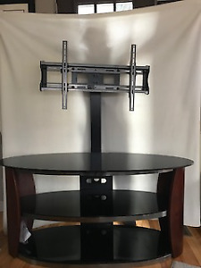 TV Stand-3 tier glass