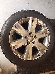 Winter Snow Tires on Alloy Rims - Dodge Journey 19inch