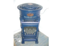 Calor Provence 3kw Portable Flueless Gas Stove Heater in Blue