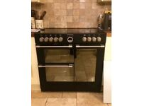 Reduced - Stoves electric oven, 5 ring induction hob, plate warmer and grill - like new