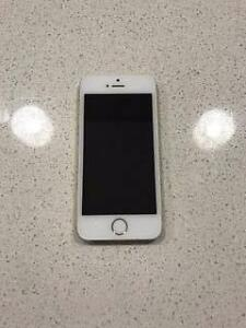 IPhone 5s White 15gm finger scanner Walkerville Walkerville Area Preview