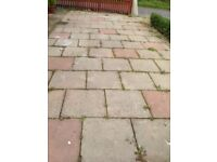 FREE CONCRETE PAVING SLABS 2 X 2 APPROX 100 SQ METRES