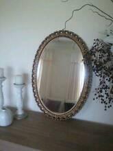 Vintage Oval Mirror Morphett Vale Morphett Vale Area Preview