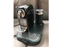 Nearly new Magimix Nespresso coffee Machine for sale