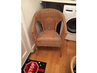 IKEA Wicker Chair For Sale