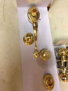 Entry Dead Bolts Sets and inside door handles