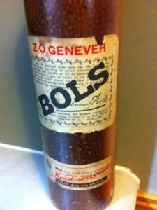 Bols 1 liter Vintage Gin Bottle from Amsterdam Cornwall Ontario image 2