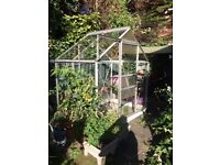 6ft x 4ft greenhouse - good condition. Surplus to requirements.