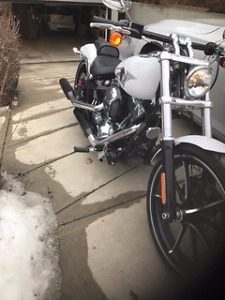 2016 Harley Breakout Soft Tail New Full Warranty 10 kms