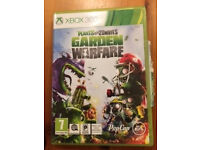 Plants vs Zombies xbox 360 game