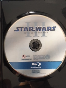 Star Wars Episode 3: Revenge of the Sith Blu-ray USED
