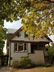 4 Bedroom Character Home:  Fully Furnished;  Newly Renovated