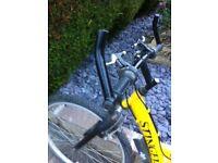 "Mountain Bike 18""frame 21""wheels 15 gears. Good condition"