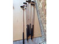 7 Assorted Golf Putters