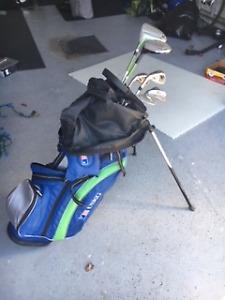 Bâtons de golf junior gaucher