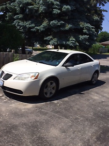 Great winter and summer drive in Pontiac G6, clean engine area