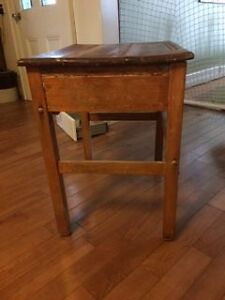 antique kids desk