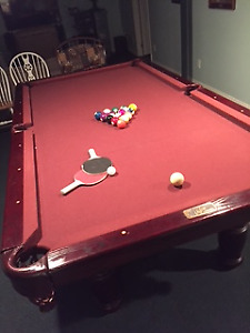 DUFFERIN SLATE POOL TABLE WITH PING PONG