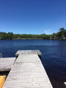 Hubbards Mill Lake 2 bedroom lakefront cottage