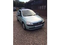 VAUXHALL CORSA CLUB ECOTEC 12V 975cc 5 SPEED MANUAL 2002