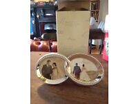 Silver/diamante wedding ring photo frame still in box