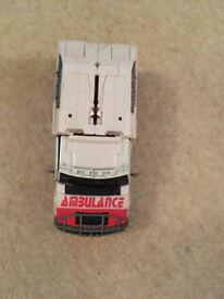 Transformers ambulance