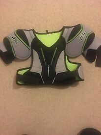 Ice Hockey Shoulder/ chest pads- No Fear