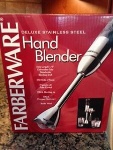Farberware - Hand Blender Stainless Steel & accessories