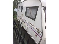 Bessacar Cameo 2. touring caravan for spares or repairs, 2 Berth, includes a motor mover.