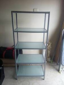 Glass Display cabinet or Bookshelf X 2 Greenwith Tea Tree Gully Area Preview