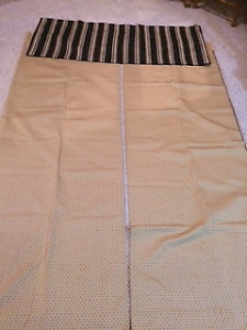 DRAPES 2-PAIR WITH VALANCES