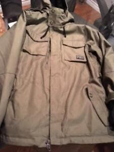 686 green jacket for sale. new condition worn 2 times