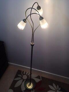 Fancy Brass Lamp
