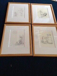 Winnie the Poo Framed Prints