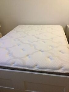 Ikea Bed with Serta mattress (double)