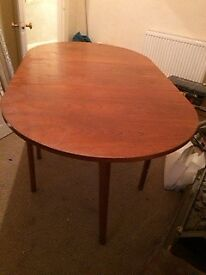 Retro Drop leaf dining table