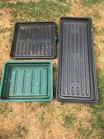 Seed Trays and Tomato Planters