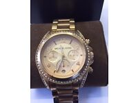 Michael Kors Rose Gold Watch For Sale