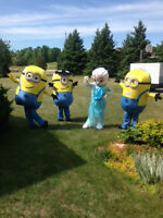 Have The Minions at your next party/event!