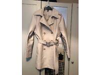 Ralph Lauren Stone Trench Coat