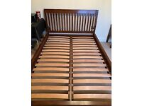 Matching Double Bed, Wardrobe and set of drawers
