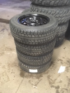 """4 """"Like New"""" MITTO SN2 Winter Tires (Off Rim)"""