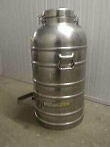 COFFEE URNS  - STAINLESS STEEL- HOT OR COLD STORAGE