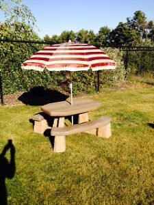 Step 2 Picnic Table with Umbrella