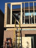City Building Permit for new house, renovation & addition