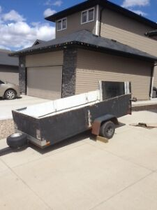 Low Profile 4'x10' utility Trailer
