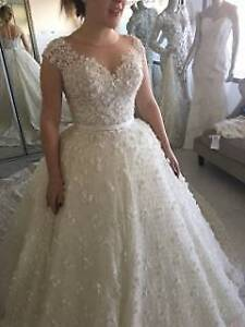 Norma and lili bridal couture dress