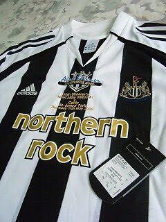 WANTED: Alan Shearer testimonial shirt