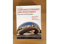 Corporate Finance & Investment – Decisions & Strategies 7th Edition