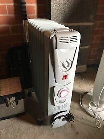 Oil-filled radiator - 2kW